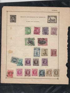 belgium  stamps page ref 18069