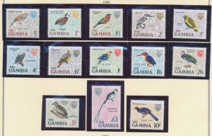 Gambia Stamps Scott #215 To 227, Mint Never Hinged - Free U.S. Shipping, Free...