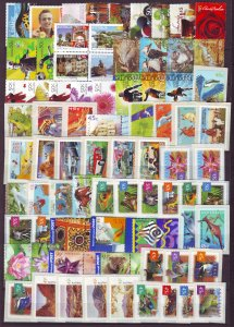 Z733 JLstamps australia mnh all different and sound many self adhesives#