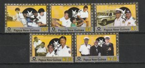 Papua New Guinea MNH 1278-82 St. John Ambulance 2007