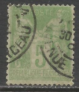 FRANCE 105 VFU O881-4