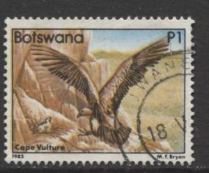 Botswana - Scott 319 - Birds Issue -1982 - VFU - Single 1P Stamp