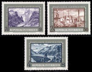 Austria MNH 923-5 Nature Power Industry 1972