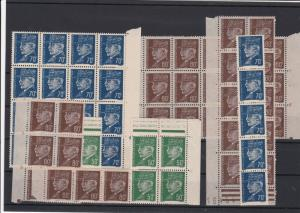 France 1941-1942 Mint Never Hinged Stamps Blocks ref R 18396