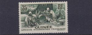 FRENCH GUINEA  1938 - 40  35C  GREEN       MH