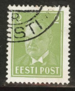 Estonia Scott 118 used from 1936-1940 set