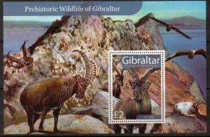 Gibraltar MNH S/S 1103 Prehistoric Wildlife 2007