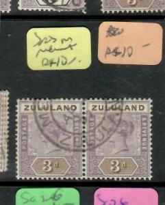 ZULULAND  (PP2305B)  QV  3D  SG 23 HORIZ PR   MELMOUTH  CDS       VFU