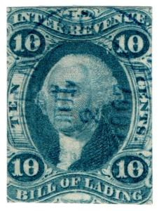 (I.B) US Revenue : Bill of Lading 10c (first issue)