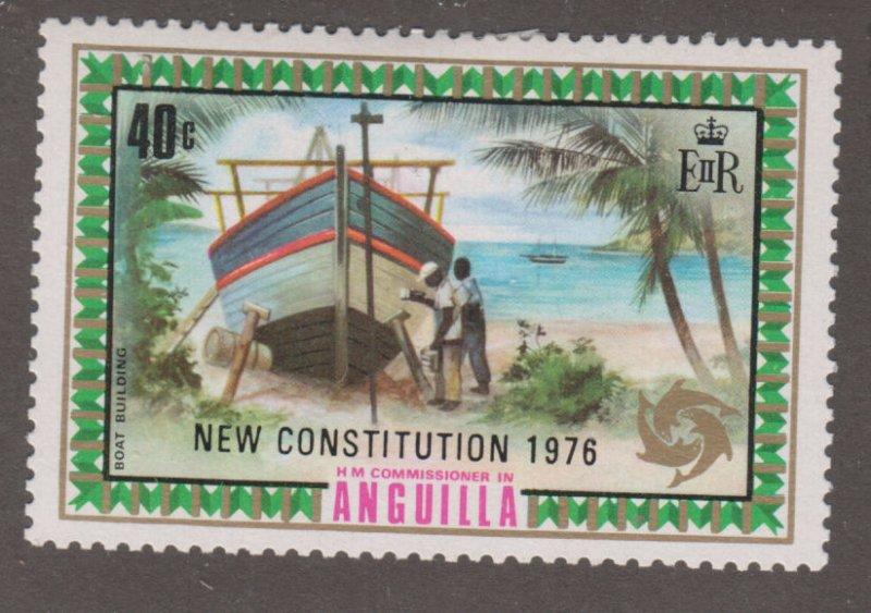 Anguilla 241 Boat Building O/P 1976