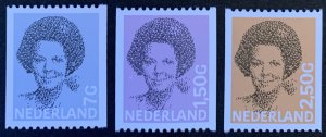 Netherlands definitives #637,697,699 MNH
