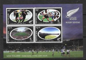 NEW ZEALAND SGMS2677 2004 RUGBY SEVENS MNH