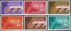 Montserrat #306-11 MNH F-VF  (SU4490)