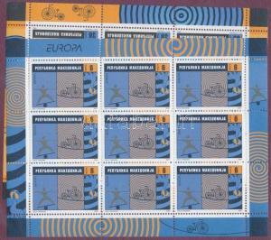 Makedonien stamp Europa CEPT mini sheet set 2002 MNH MI 254-255 WS188069