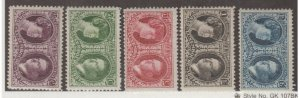 Luxembourg Scott #B20-B24 Stamps - Mint Set