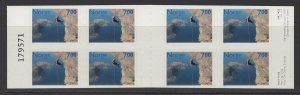 NORWAY SGSB129 2001 SPORTS BOOKLET MNH