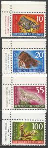SENEGAL 301//306 MNH SHORT SET Z7-74