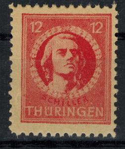 Germany - Russian Zone - Thuringia - Scott 16N6 MNH (SP)