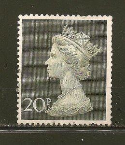 Great Britain 636 Queen Elizabeth II 20P Used