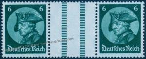 Germany 1933 Frederick the Great Mi WZ9 MNH Zusammendruck ZSD Se-Tenant 78978