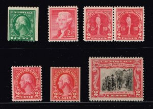 US STAMP 20th MINT STAMP COLLECTION LOT #M2