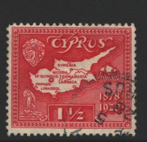Cyprus Sc#116 Used