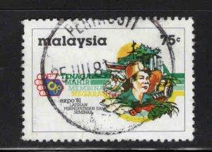Malaysia Scott 224 Used