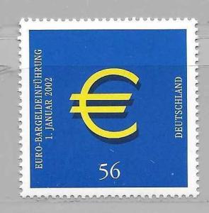 Germany 2144 Euro Currency single MNH