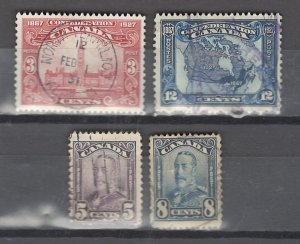 COLLECTION LOT # 2923 CANADA 4 STAMPS 1927+ CV+$25