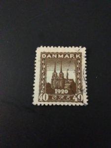 *Denmark #158u