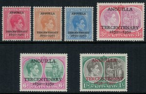St. Kitts-Nevis #99-104*  CV  $3.50