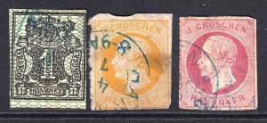 GERMANY HANOVER COLLECTION LOT YOU IDENTIFY AND GRADE