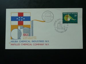 chemistry 1963 FDC Curacao Netherlands Antilles 87009