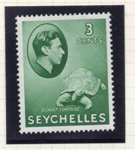 Seychelles 1938 Early Issue Fine Mint Hinged 3c. 293886