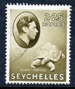 SEYCHELLES-- 1938- sg148  - 2r 25c  - chalk  - used -  £20..