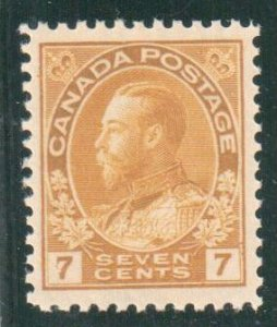Canada #113 XF NH With AIEP Certification C$240,00
