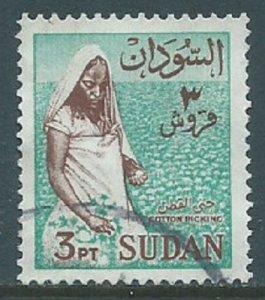 Sudan, Sc #150, 3pi Used