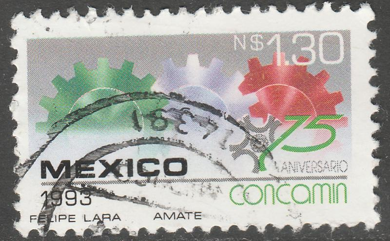 MEXICO 1829, 75th Anniv Confederation Chambers of Industry. USED. F-VF. (1082)