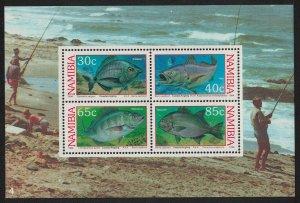 Namibia Coastal Angling MS 1994 MNH SG#MS640