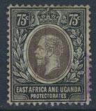 East Africa & Uganda Protectorate Used - SG 52a SC#48 - see details