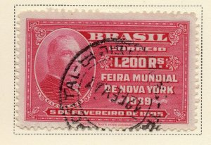 Brazil 1939 Early Issue Fine Used 1.200r. NW-12111