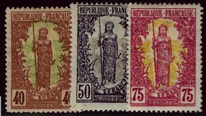 French Congo SC #44, 46 Mint F-VF hr SCV$29.00...Bid to Win!