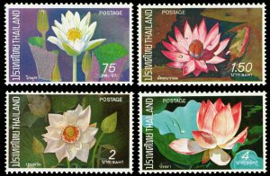 Thailand 1973 Scott #648-651 Mint Never Hinged