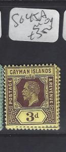 CAYMAN ISLANDS (P1111B)   KGV    3D     SG 45A    MOG