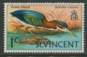 St Vincent - Scott 280 - Birds Issue -1969 - MNH - Single 1c Stamp