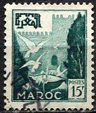 French Morocco 1954: Sc. # 297; O/Used Single Stamp