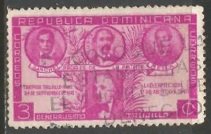 DOMINICAN REPUBLIC 369 VFU N901-1