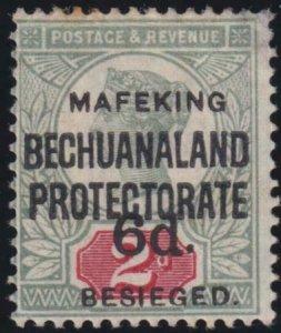 Cape of Good Hope - Mafeking 1900 SC 174 Mint Cert