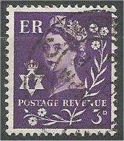 NORTHERN IRELAND, GB, 1958, used 3p, Scott 1