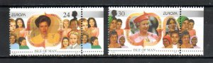 Isle of Man 679-680 MNH
